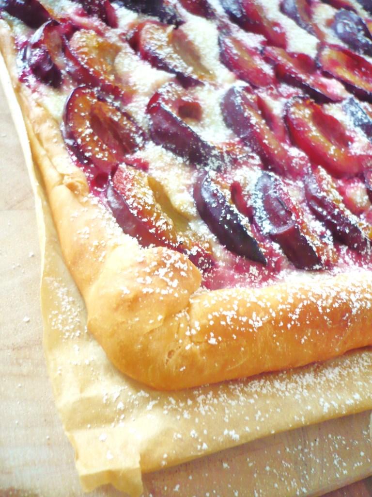 Ach wie schön: ein 10-Minute-Plum-Cake!