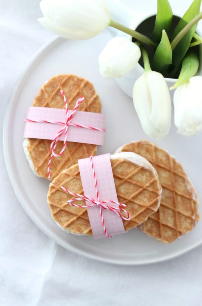 Cheesecake Eis selber machen ohne Eismaschine Rezept 1