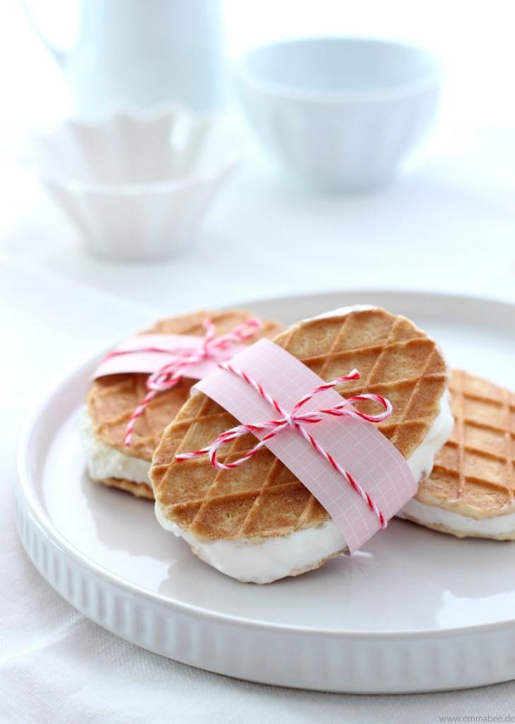 Cheesecake Eis selber machen ohne Eismaschine Rezept 4
