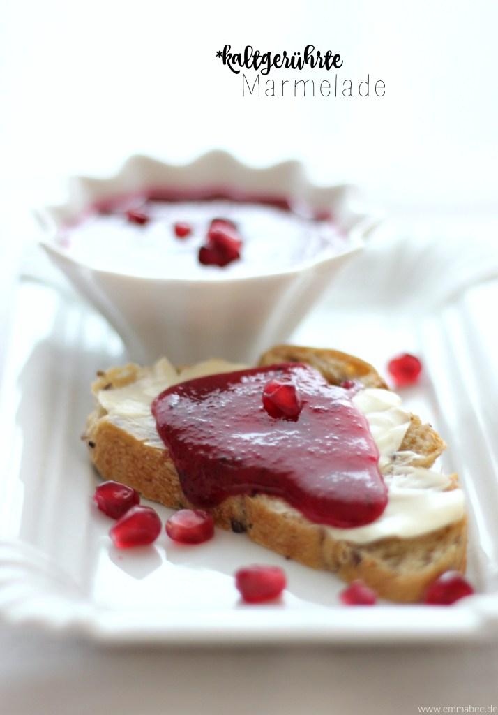 Geht auch im Winter: kaltgerührte, superfruchtige Marmelade