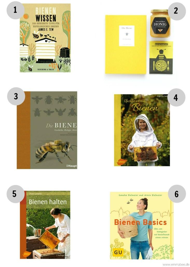 EmmaBee Bienenfreunde Hobbyimker Bücher