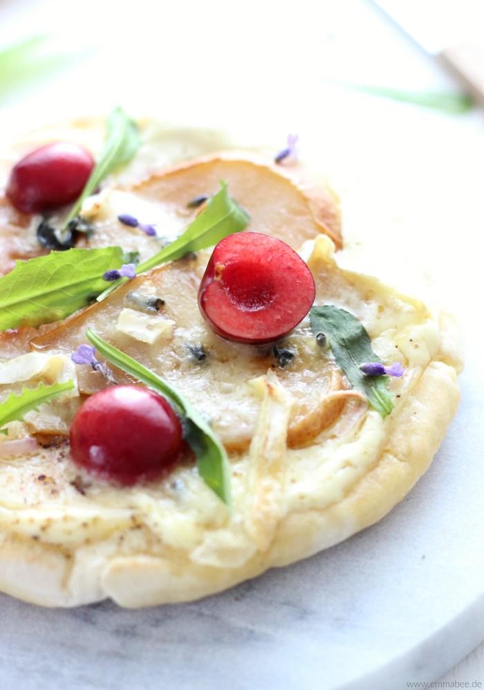 EmmaBee Rezept Bio-Pizza vom Grill