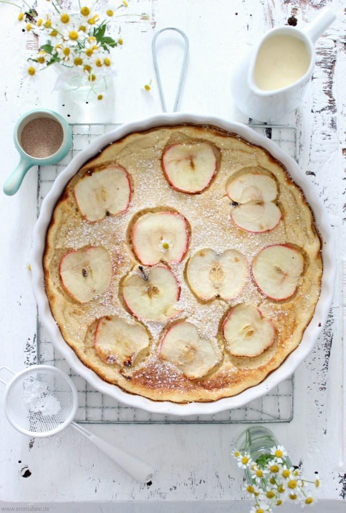 {Rezept} Ofenpfannkuchen – perfekt für alle Situationen in denen es schnell gehen muss!