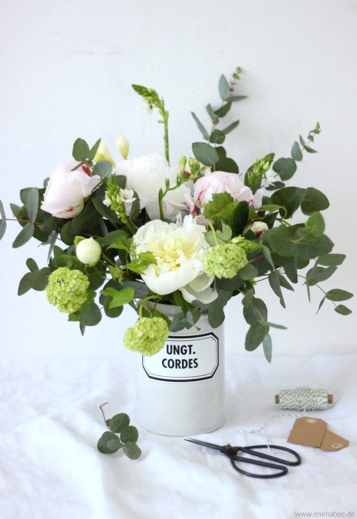 EmmaBee DIY Frühlingsblumenstrauss