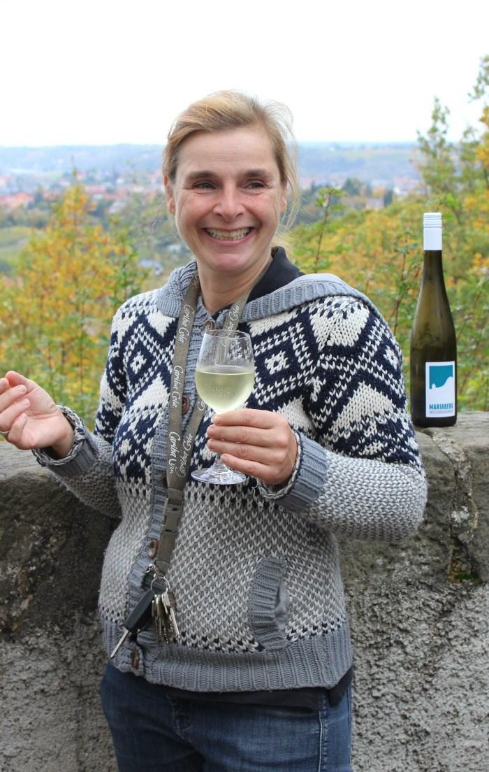 mmaBee Unterwegs Sächsische Weinstrasse Wein