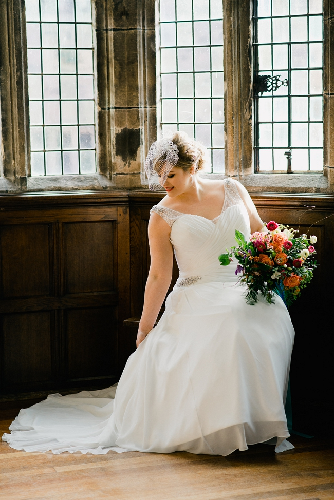 fine art wedding hoghton tower