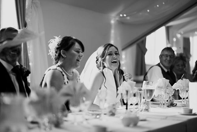 bride reaction