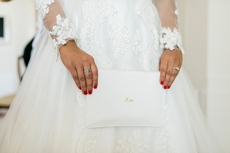 mrs wedding bag