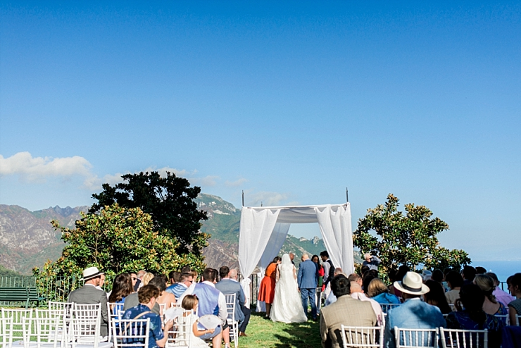 ravello town hall gardens wedding