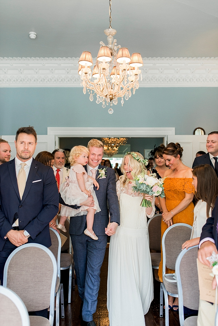 entering your wedding together