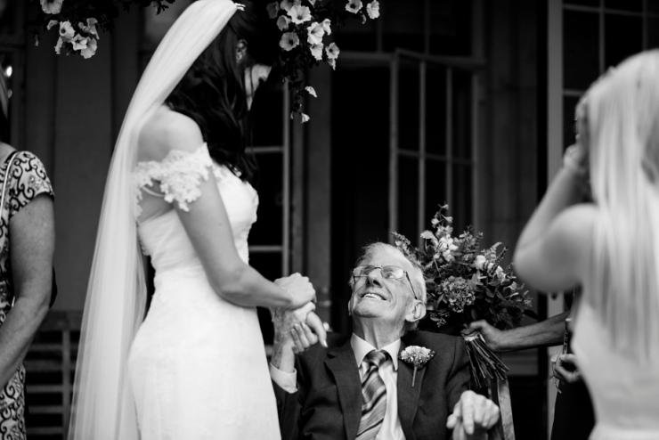 brides grandad