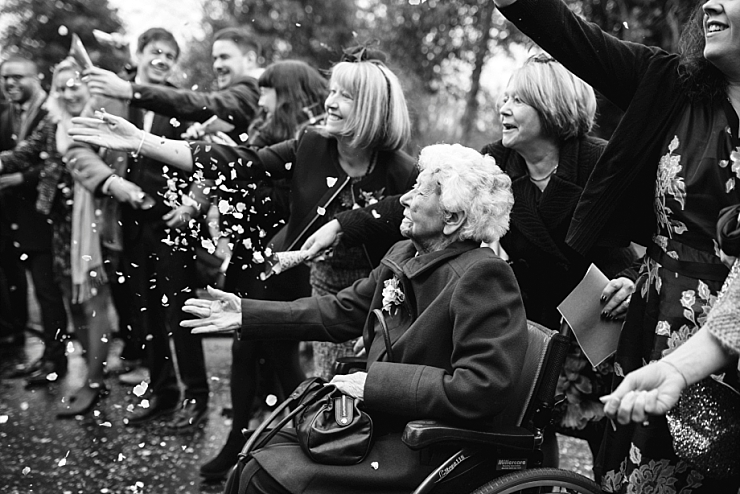 grandma confetti throw