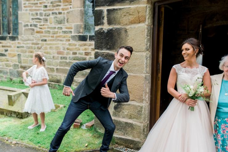 silly wedding guest