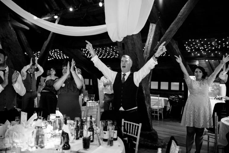 fun wedding at rivington