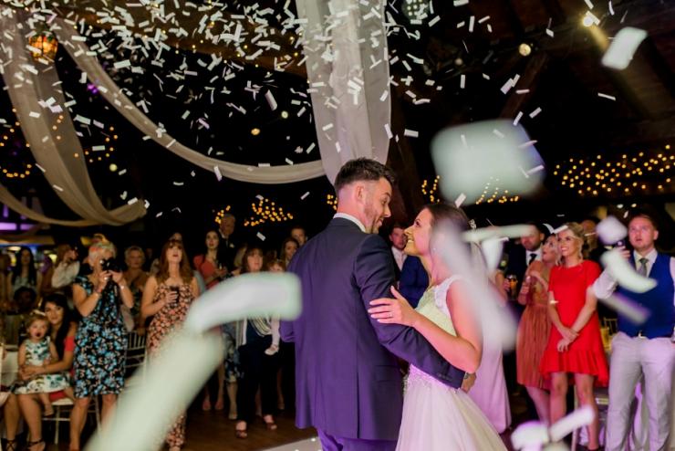 first dance confetti