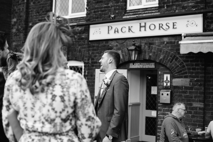 pack horse pub in cluceth for wedding