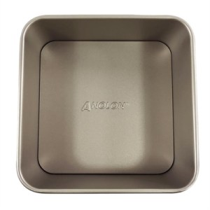 Anolon Ceramic Reinforced 20cm Loose Base Square Cake Pan