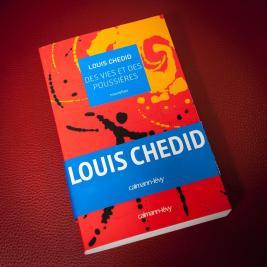 """Livre """"Des vies et des poussières"""" de Louis Chedid"""