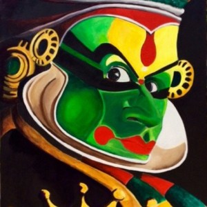 Là où va le regard, le Maître de Kathakali
