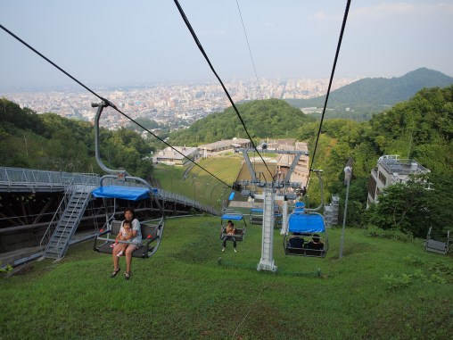 There were way too many babies and tiny children on the chairlift for my liking.