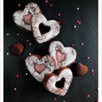 Chocolate Cinnamon Heart Cookies [Vegan]