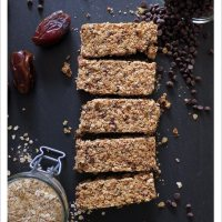 The Ultimate Granola Bar [Vegan, Gluten-free]