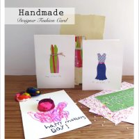 Handmade Designer Fashion Card