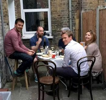 Birthday BBQ London Sunshine Argentinean Meat