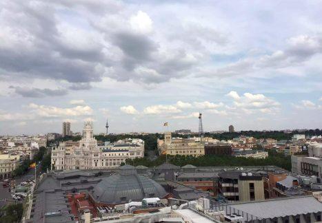Circulo Bella Artes Azotea View Madrid 360 Drinks Rooftop Bar City