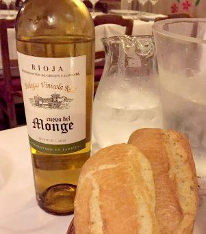 Restaurante Botin Guinness Book of records Madrid Birthday White Rioja Cueva del Monge Oldest