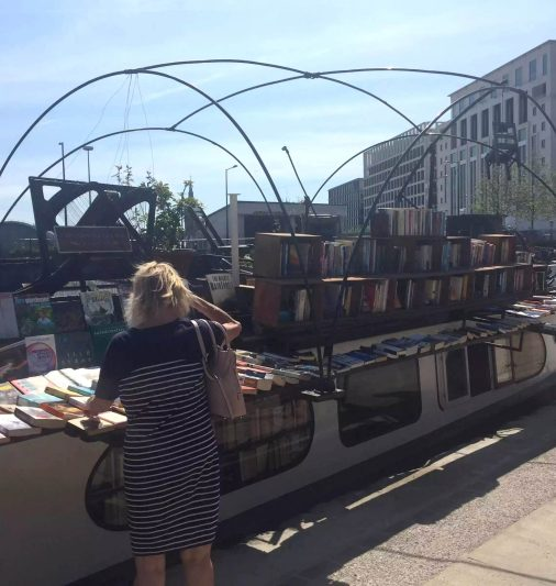 Word on the water Canal London Kings Cross