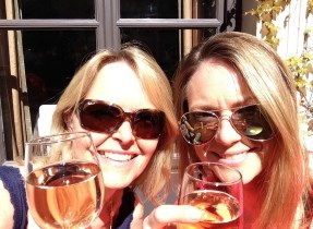 Emma Mummy Birthday Paris Trip Sunshine Wine Cheers Girls Weekend