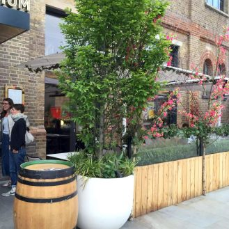 German Gymnasium D&D Kings Cross London Birthday Dinner Restaurant Terrace