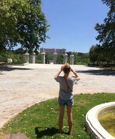 Madrid Sunshine Casa do Campo Walking Park Birthday Manzanares River
