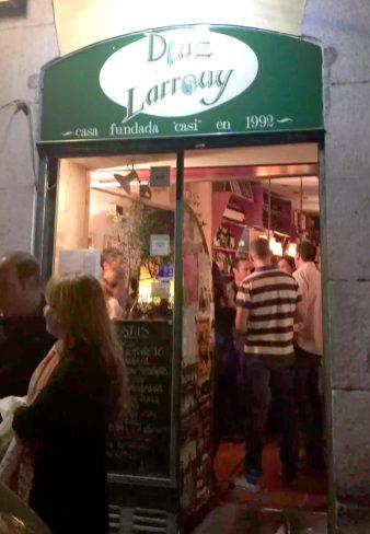 Madrid Birthday Tapas Calle Cava Baja La Latina Rioja