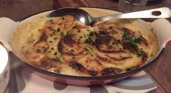 Anchor & Hope The Cut Waterloo Dinner Pub Gastropub Menu Potato Dauphinoise