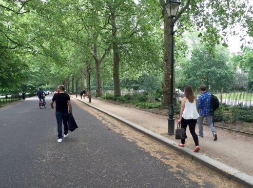 Battersea Park London Walking Friends Saturday