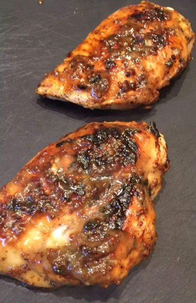 Honey Mustard Chicken Paleo SCD Dinner London Recipe Avocado Bacon