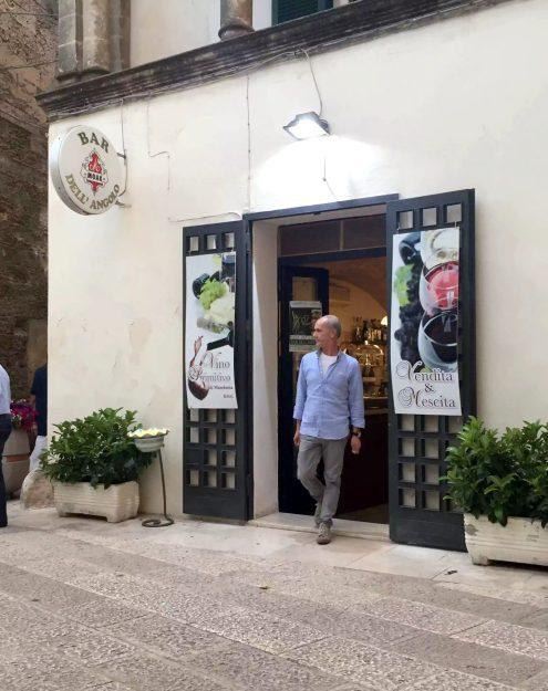 Bar dell'Angolo Manduria Puglia Italy Primitivo Aperitivo Wine Olives Cheese