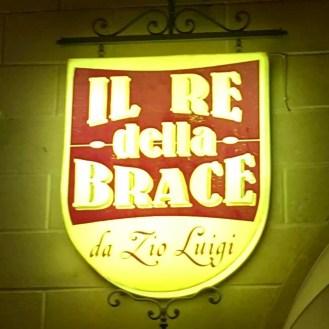 Il Re Della Brace Pulsano Restaurant Dinner Old Town Meat BBQ Wine