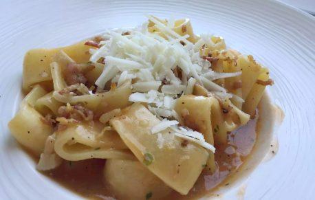 Polignano A Mare Puglia Italy Grotta Palazzese lunch Birthday Princess cave Restaurant View Pasta Pancetta Parmesan