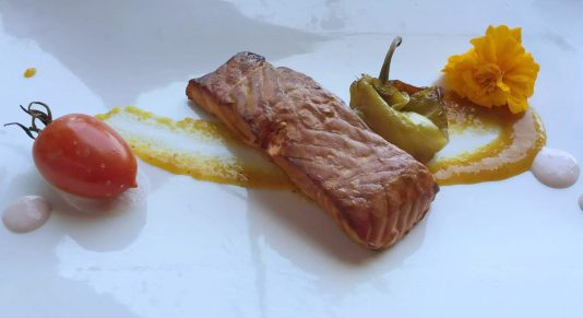 Polignano A Mare Puglia Italy Grotta Palazzese lunch Birthday Princess cave Restaurant View Smoked Salmon peppers Horseradish