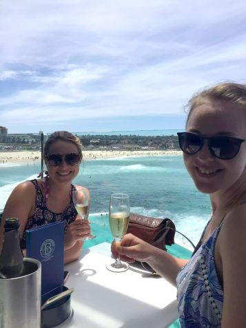Bondi Australia Prosecco Surf Holiday Sunshine Travels