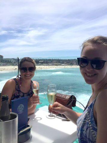 Bondi Australia Prosecco Surf Holiday Sunshine Travels