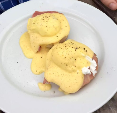 Skylark Cafe Restaurant Wandsworth Common Lunch Drinks Eggs Benedict Muffin Poached HOLLANDAISE