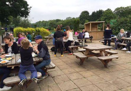 Skylark Cafe Restaurant Wandsworth Common Lunch Drinks Terrace Outdoor Dining