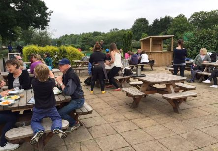 Skylark Cafe Restaurant Wandsworth Common Lunch Drinks Terrace Outdoor Dining