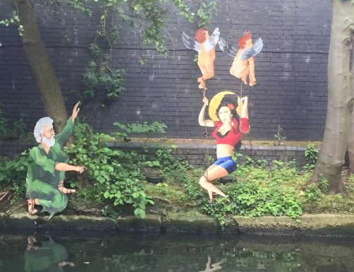 Regent's Canal Camden Walk Primrose Hill Amy Winehouse God Cherubs