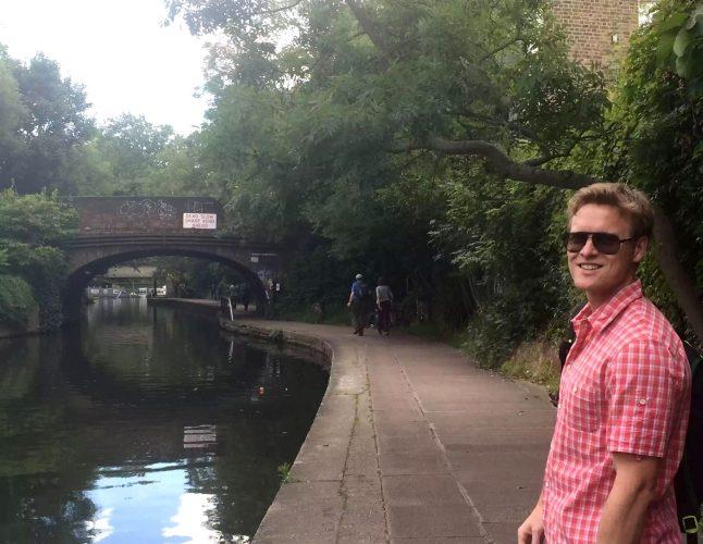 Regent's Canal Camden Walk Primrose Hill