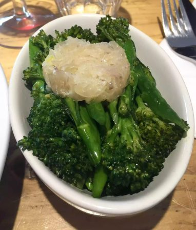 Great Northern Pub St Albans Wine Tasting Dinner Broccoli onions